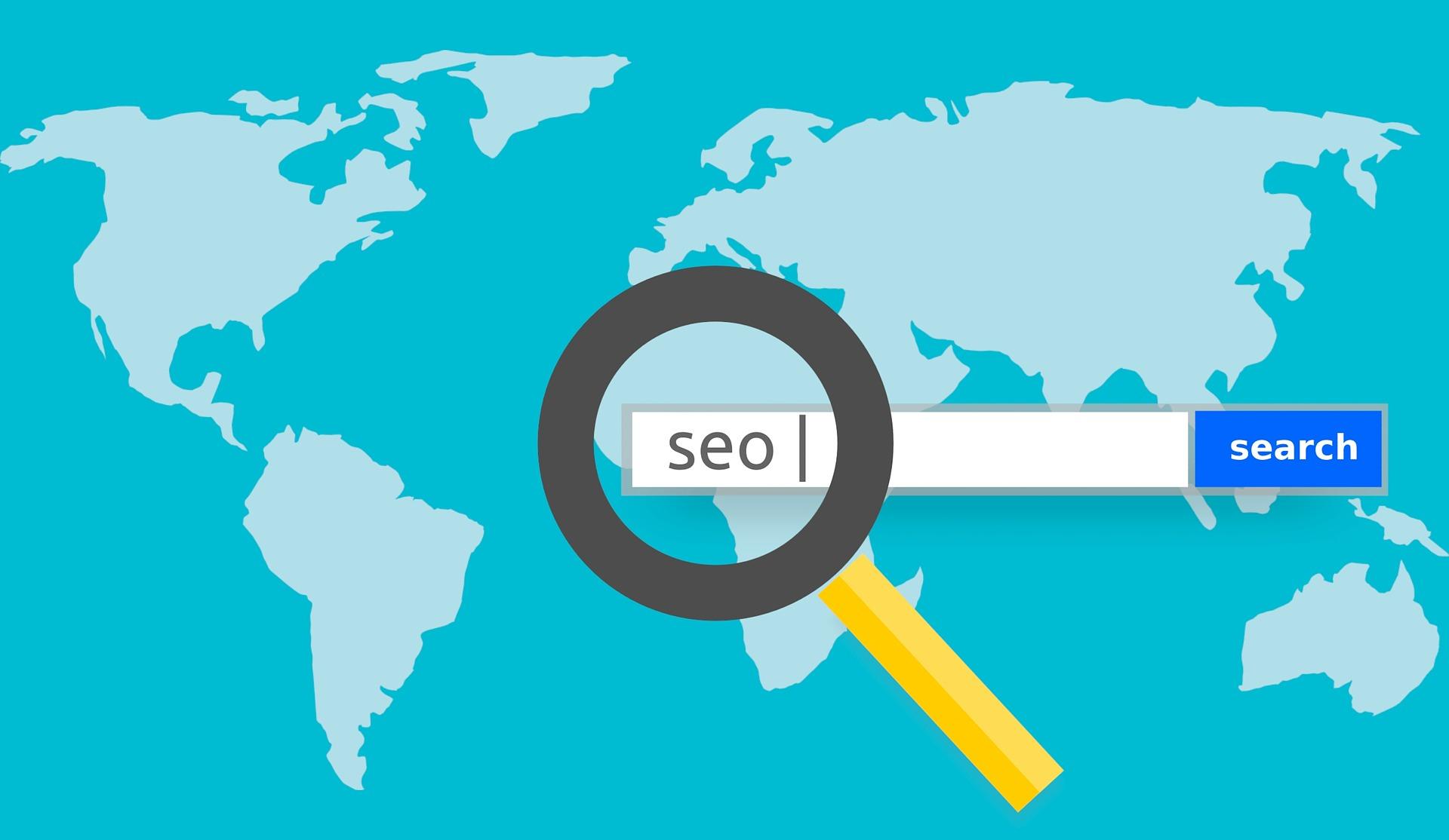 SEO web vyhledávání