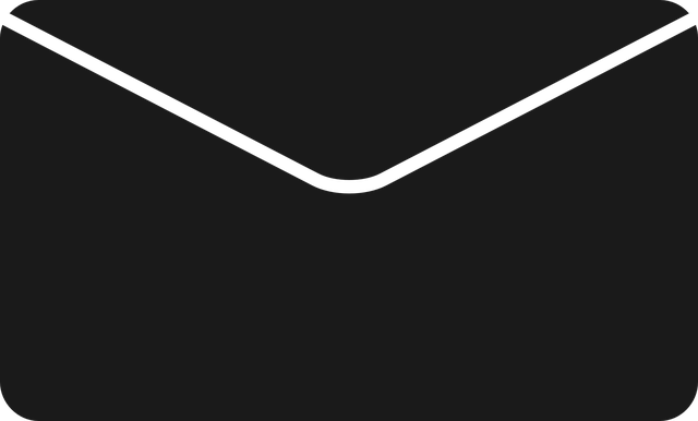 černá obálka