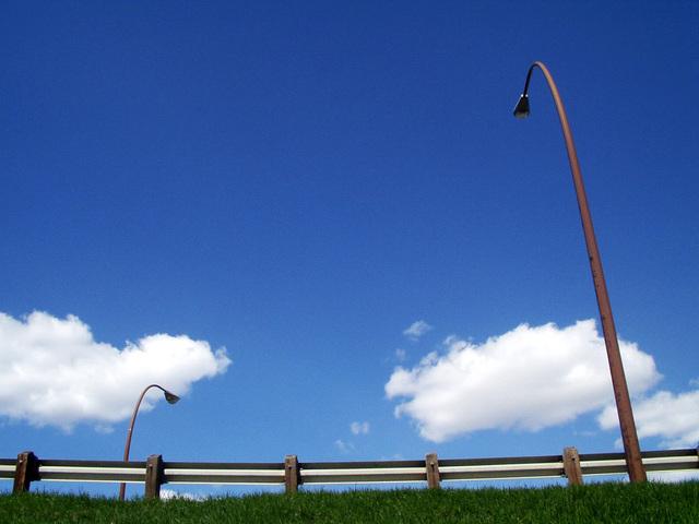 lampy pouličního osvětlení