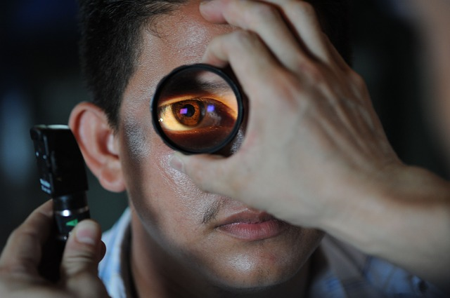 vyšetření oko