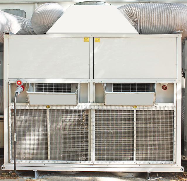 kompresorová jednotka klimatizace