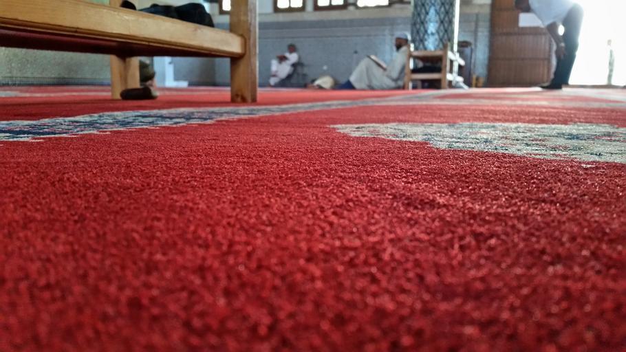 koberec v domácnosti